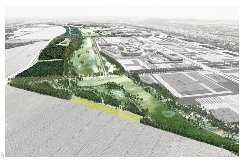 Le plateau de Paris-Saclay s'offre un cadre efficace à la lutte contre le mitage.