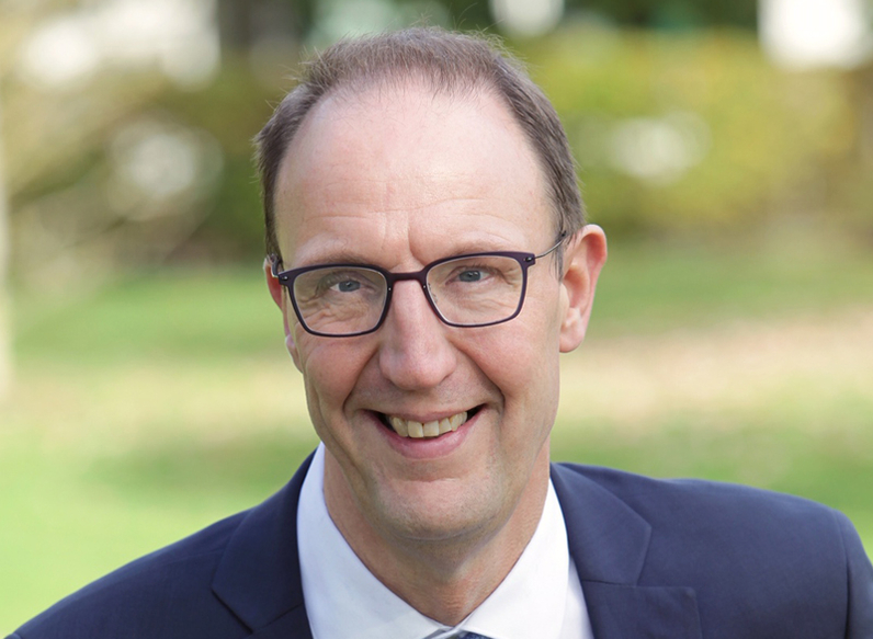 Olivier Clodong, maire de Yerres
