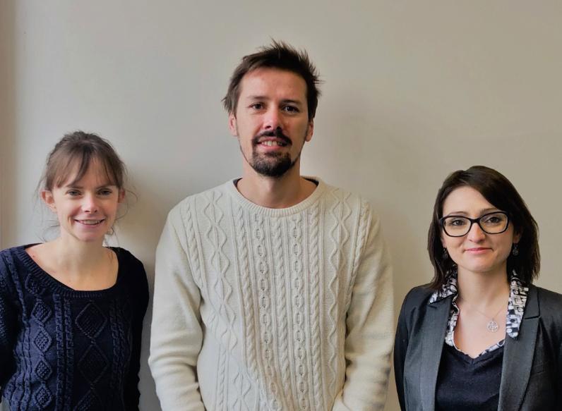Marie Cheminant, Vincent Robert et Maela Marzin-Placial sont professeurs au collège Gérard Philipe, Massy.