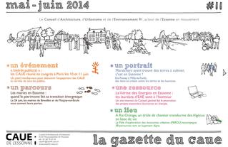 #11 la gazette du CAUE de l'Essonne - Sommaire - 2014