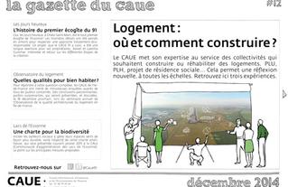#12 la gazette du CAUE de l'Essonne - 2014