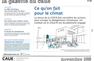 #16 la gazette du CAUE de l'Essonne - Sommaire - 2015