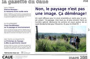 #14 la gazette du CAUE de l'Essonne - Sommaire - 2015