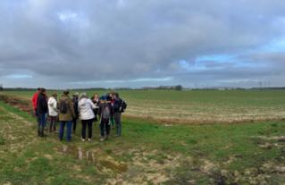 Avec le soutien du programme LEADER,  le CAUE de l'Essonne, associé au bureau d'étude INITIAL, a lancé les Ateliers Territoires Paysages.