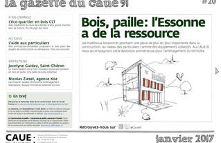 #20 la gazette du CAUE de l'Essonne - Sommaire - 2017