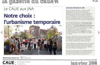 #21 la gazette du CAUE de l'Essonne - Sommaire - 2018