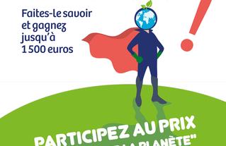 Action pour la planète ! Affiche A3, 2018-2019