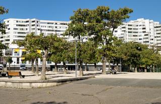 Place de la Résistance à Évry-Courcouronnes - Action menée en 2019-2020