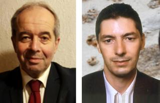 Patrick de Luca, maire de Chamarande et Olivier Lejeune,  adjoint au maire en charge du cadre de vie