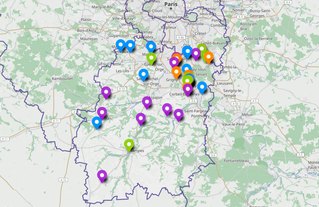 Notre carte interactive