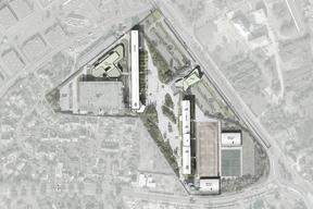 Opération de restructuration partielle et d'extension du lycée Robert Doisneau à Corbeil-Essonnes.