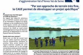 Entretien avec François Durovray, Président de la Communauté d'agglomération Val d'Yerres Val de Seine