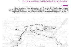 """Fiche action, """"Ballancourt-sur-Essonne, territoire d'étude pour l'ENSAPM"""" - pg1"""