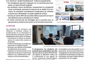"""Fiche action, """"Ballancourt-sur-Essonne, territoire d'étude pour l'ENSAPM"""" - pg2"""