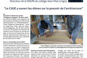 Entretien avec Stéphan Milhau, directeur de la SEGPA du collège Jean Vilar à Grigny