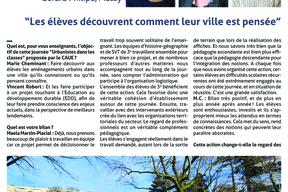 Entretiens de Marie Cheminant, Maela Marzin-Placial et Vincent Robert Professeurs au collège Gérard Philipe, Massy. pg1
