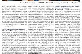 Entretien avec Joanne Vajda est architecte DPLG, docteur EHESS et maître de conférences à l'ENSA Paris-Malaquais. Sébastien Lefetz est adjoint à l'urbanisme à la mairie de Ballancourt-sur-Essonne. pg2